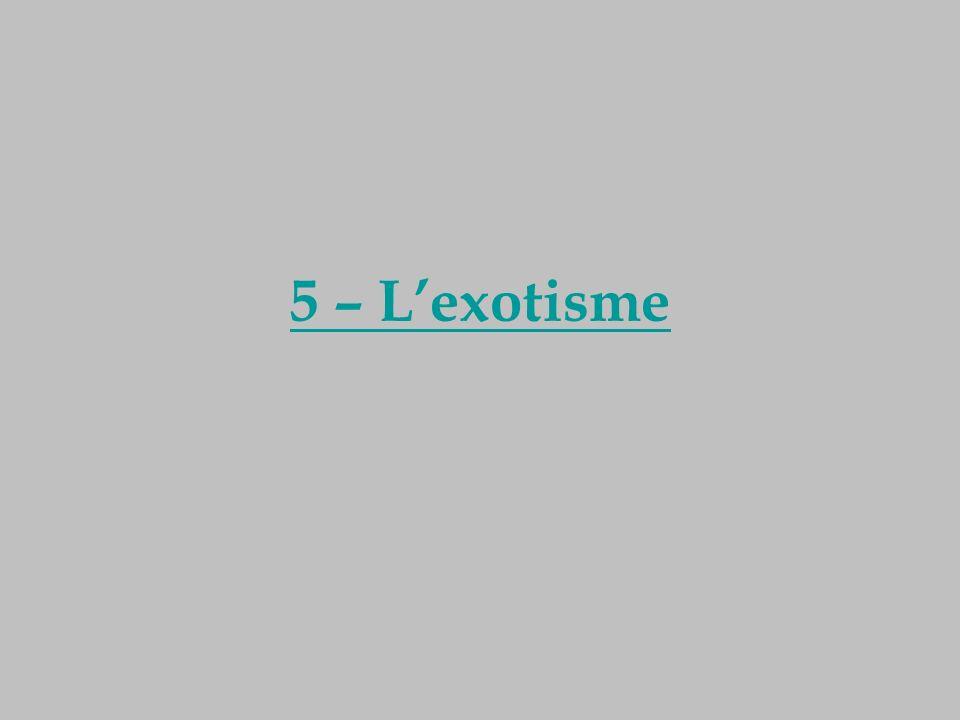 5 – Lexotisme