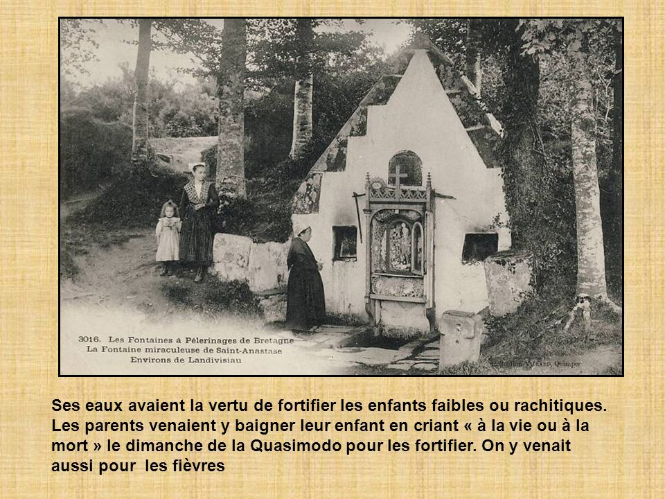 Fontaine dédiée à Saint Maurice au bourg de Saint-Aubin St Maurice est invoqué pour la guérison des rhumatismes et généralement représenté en chevalie