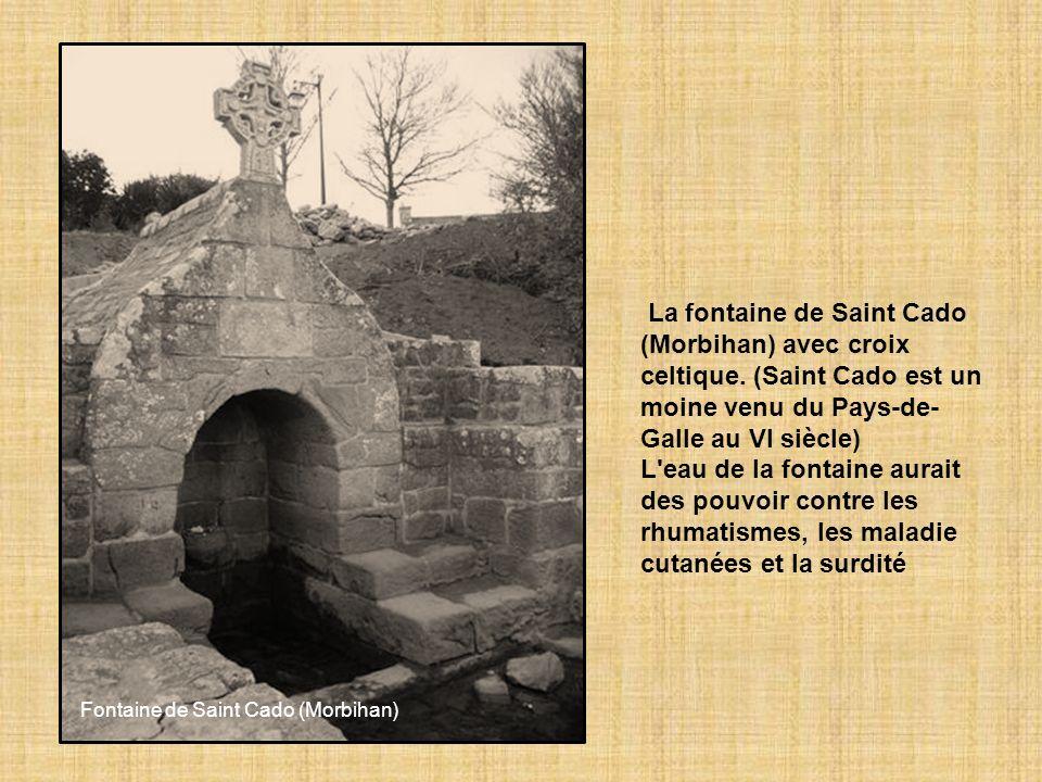 La légende raconte que saint Fiacre, patron des jardiniers, ayant soif alors qu'il passait par là, a frappé le sol de son bâton, faisant jaillir une s