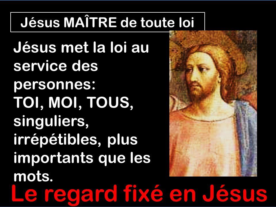Jésus est MAÎTRE de la LOI Critiqués pour arracher des épis en sabbat, sans respecter la loi, Jésus dit quIl est Maître de la LOI du sabbat Pour Jésus