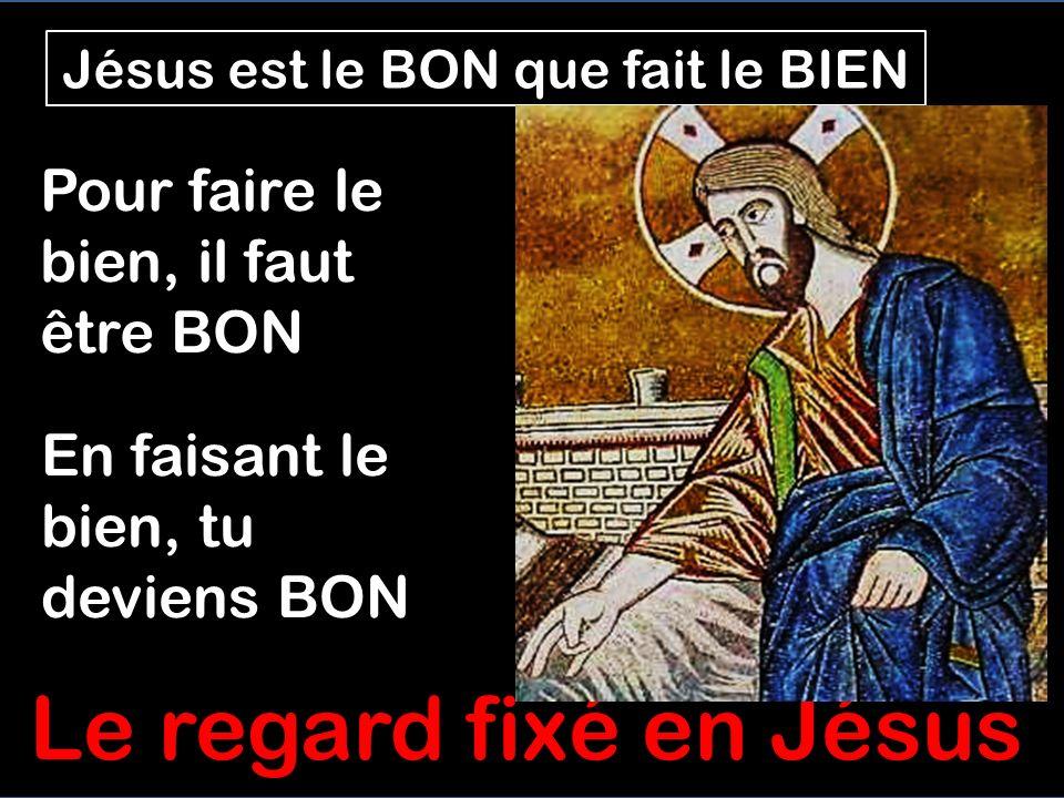 Pour Jésus faire le BIEN est le plus important Critiqué pour avoir guéri en sabbat, Jésus dit que faire le BIEN est la première des lois quil nous fau