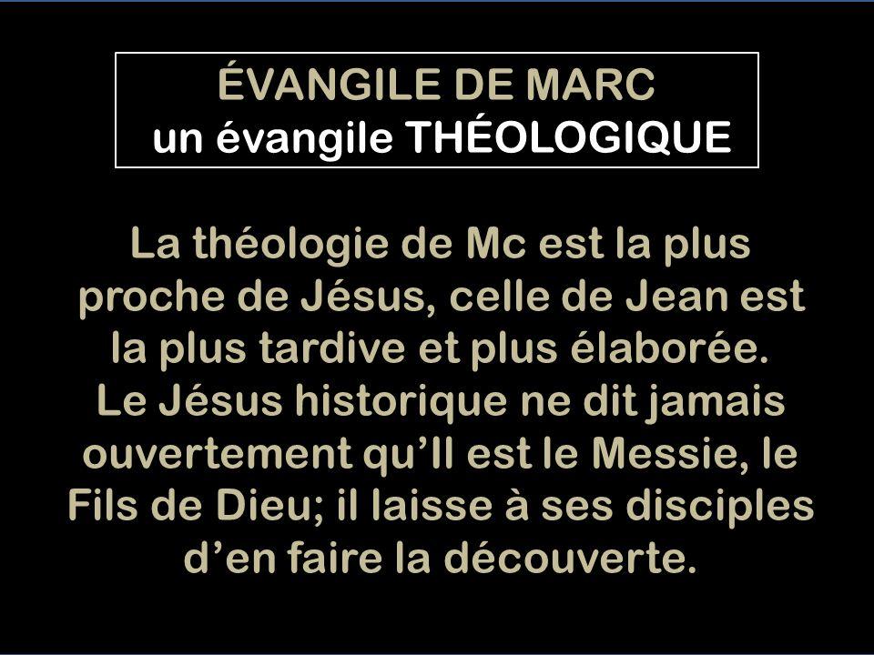 Le regard fixé sur Jésus en lÉVANGILE DE MARC III