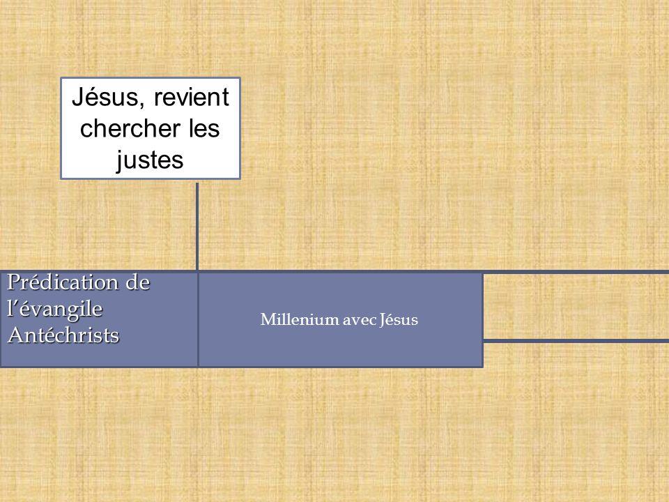 Prédication de lévangileAntéchrists Millenium avec Jésus Jésus, revient chercher les justes
