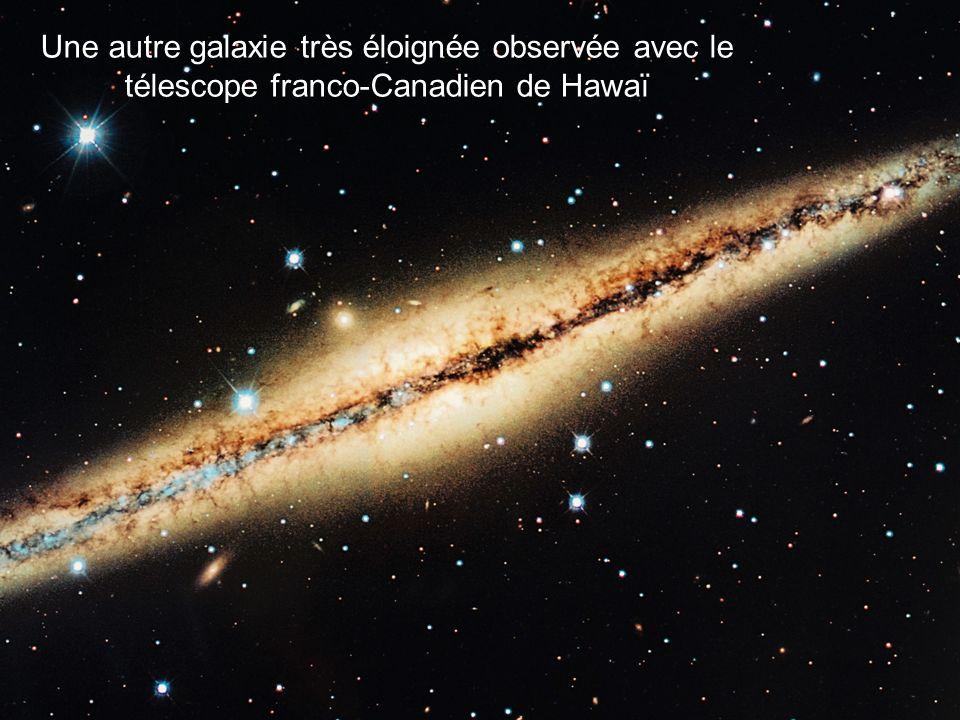 Une autre galaxie très éloignée observée avec le télescope franco-Canadien de Hawaï