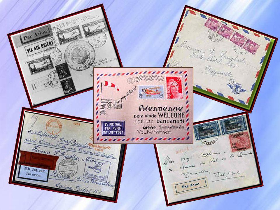 Envoyer, aujourdhui, une lettre à New York ou à Beijing semble aussi simple que dacheter une baguette de pain. Et si le courrier met quelques jours à