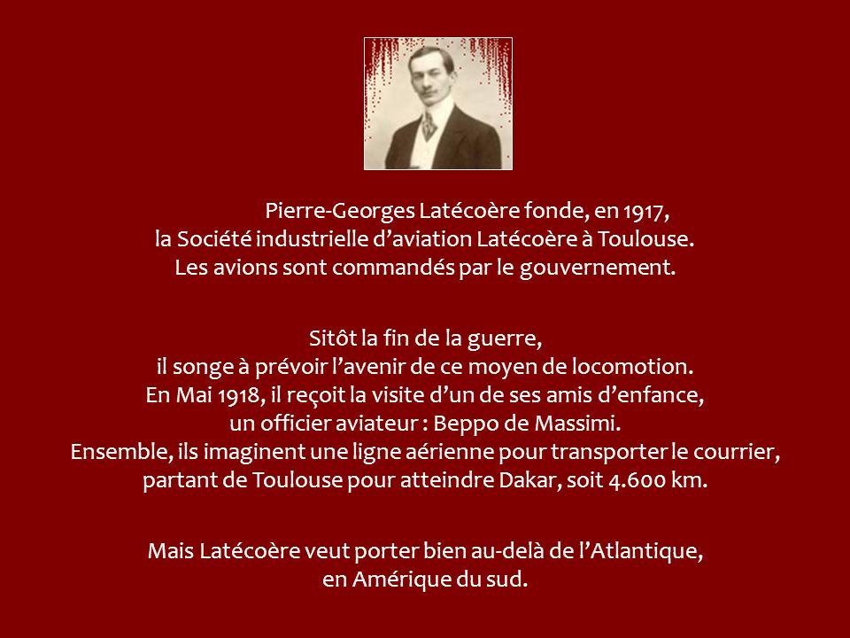 En 1924, la ligne est prolongée jusqu'à Dakar et, cette fois, ce sont les tribus maures qui posent des difficultés. Elles capturent, en effet, les avi