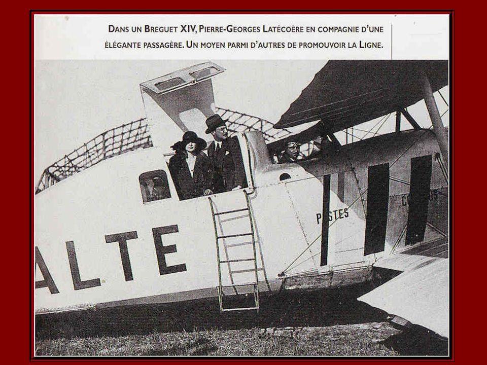 Bréguet XIV Salmson 2a2 Avions fabriqués par les usines Latécoère.
