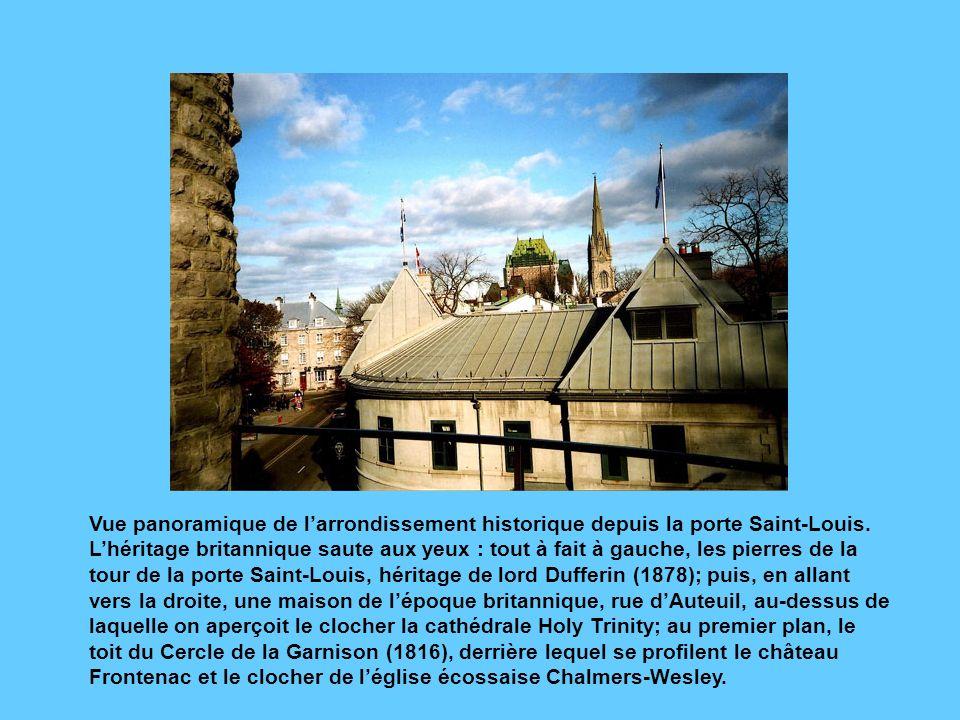 Le Vieux-Québec, héritage Français ou Britannique .