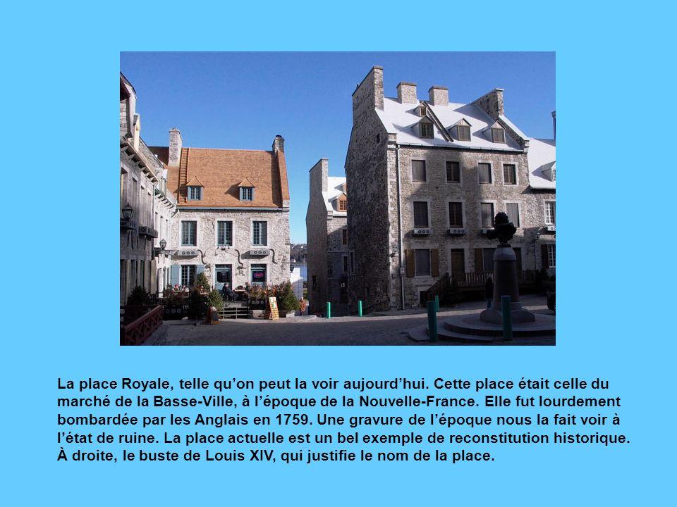 La redoute Dauphine, commencée sous le Régime français, est complétée par les Britanniques, qui lui ajoutent des contreforts puis un étage dans la sec