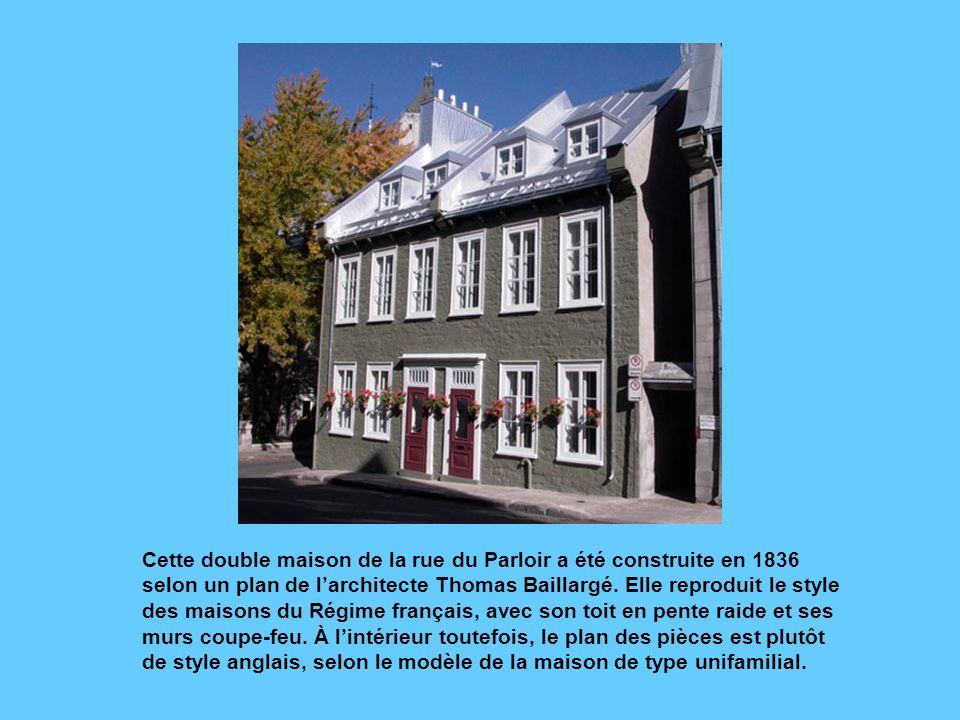 La place Royale, telle quon peut la voir aujourdhui. Cette place était celle du marché de la Basse-Ville, à lépoque de la Nouvelle-France. Elle fut lo