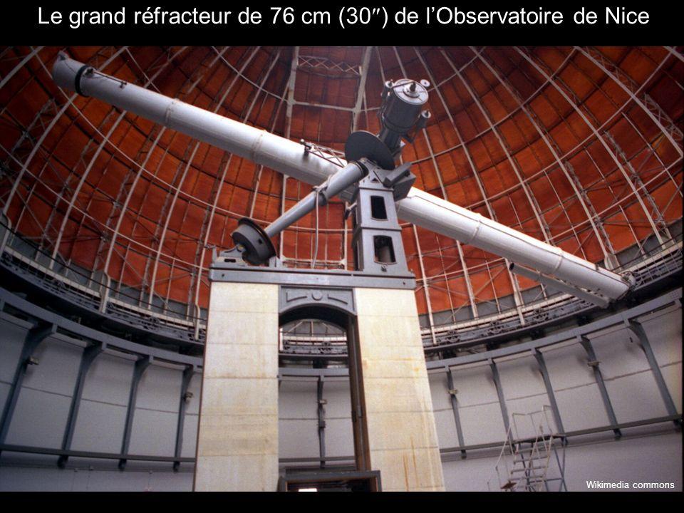 Le grand réfracteur de 76 cm (30 ) de lObservatoire de Nice Wikimedia commons