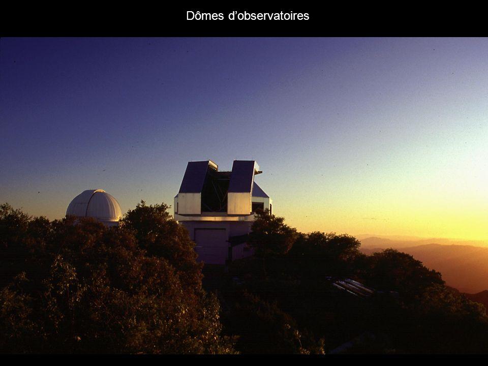 Pourquoi placer les observatoires au sommet des montagnes.