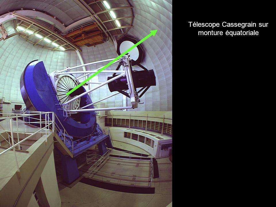 Télescope Cassegrain sur monture altazimutale