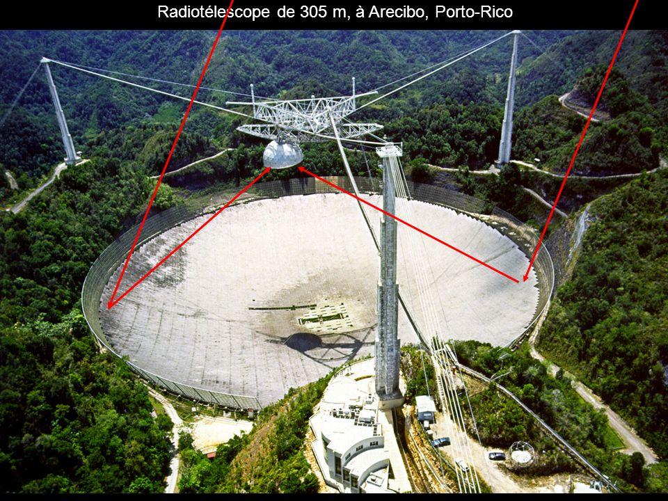 Radiotélescope de 305 m, à Arecibo, Porto-Rico