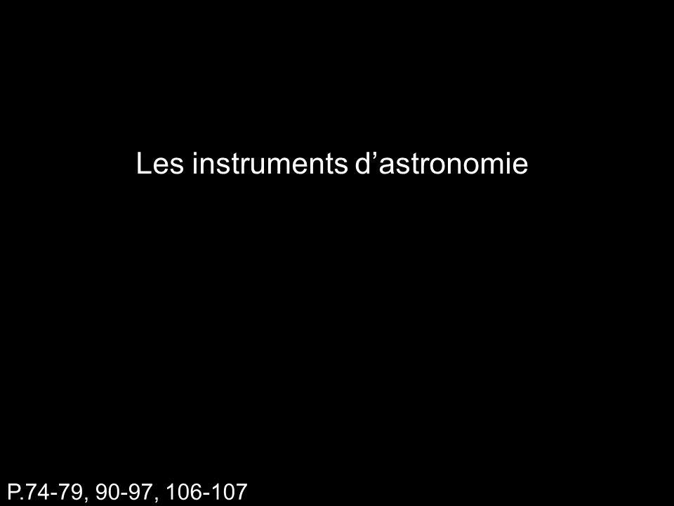 Les instruments dastronomie P.74-79, 90-97, 106-107