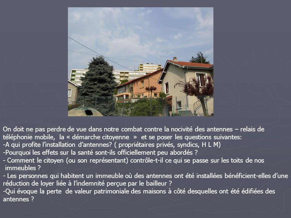 NOM : NOM : M GASMANN MAMINO ADRESSE : ADRESSE : 65 A rue RICHARME (17 ème étage) 42800 RIVE DE GIER FAMILLE RELAIS : FAMILLE RELAIS : 3* 1800 en terrasse au dessus du logement + 6 * 900 à 80 m HEURE MESURES : HEURE MESURES : 17 H 30 MESURES : MESURES : SEJOUR : Val MOY 0.81Val MAX 2.42 Val corrigée 2.68 CHAMBRE PARENTS : Val MOY 0.70Val MAX 2.16 Val corrigée 2.39 OBSERVATIONS OBSERVATIONS