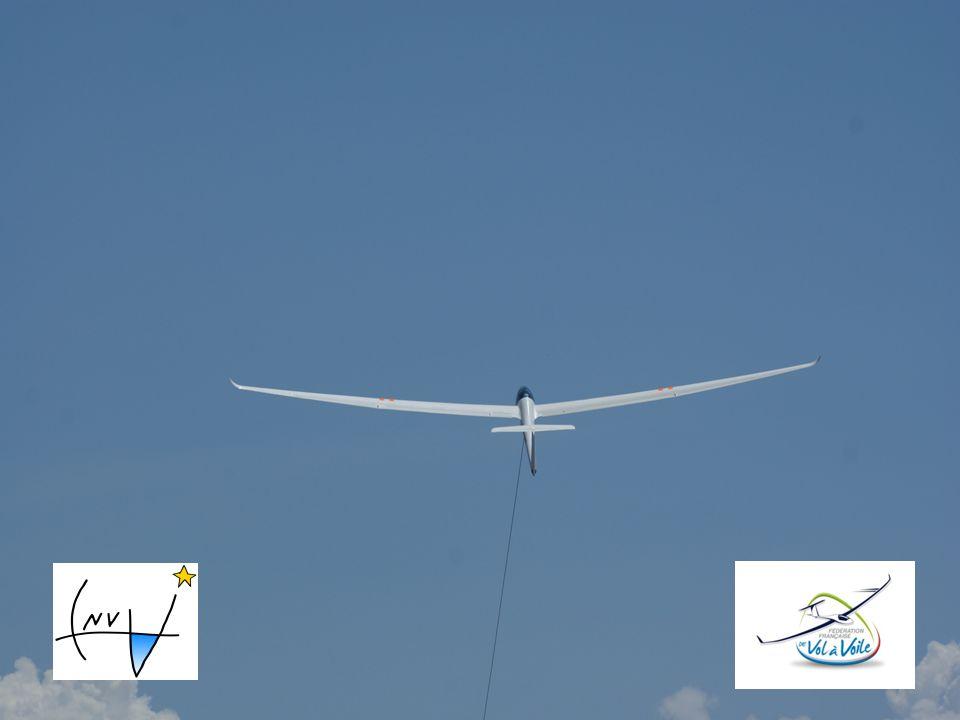 LEVY-Philippe-novembre2009 Préparation avant la treuillée Roulage et décollage Montée initiale Montée à trajectoire optimale Retour à lassiette de réf