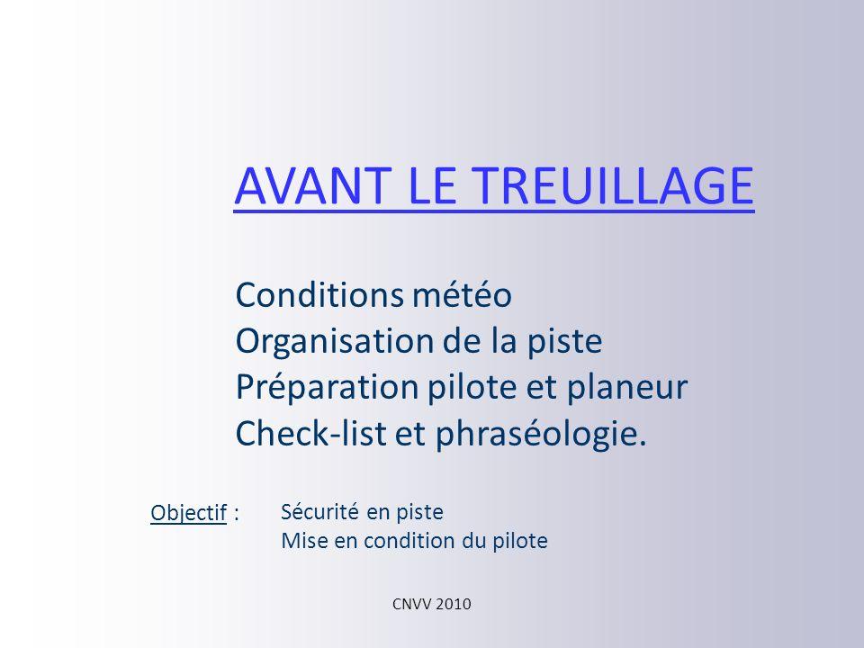 CNVV 2010 Roulage et décollage Montée initiale Montée à trajectoire optimale Retour à lassiette de référence Largage et vol libre Environ 70m Pente 45