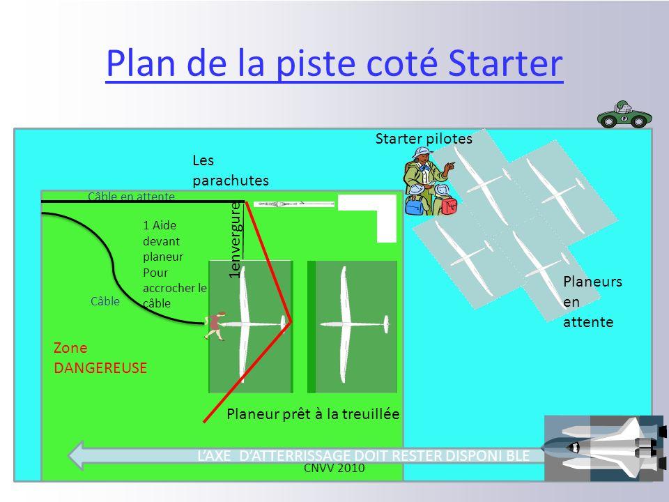 Vue générale Véhicule Tracteur des câbles Stocké loin des planeurs CNVV 2010