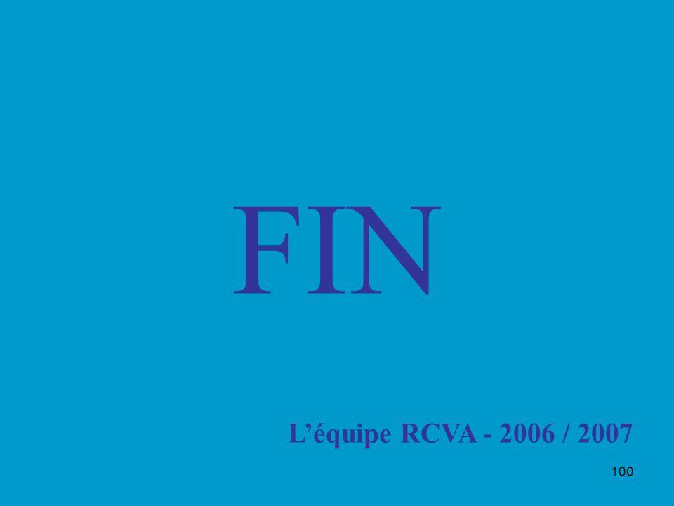 100 FIN Léquipe RCVA - 2006 / 2007