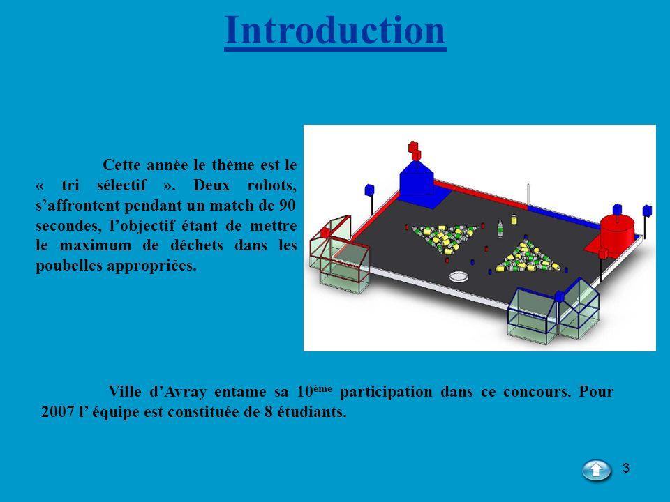 34 5) Les CANs Le robot est équipé de deux lasers, le laser bas pour le repérage des déchets, le laser haut pour le repérage du bac et le recalage.