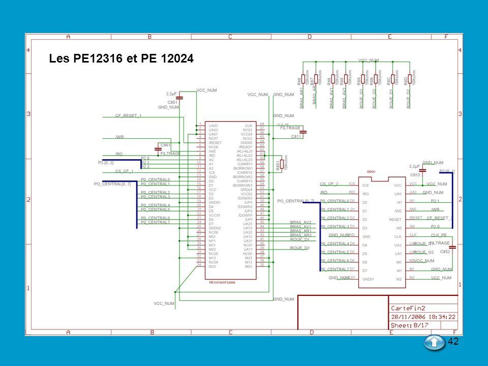 42 Les PE12316 et PE 12024
