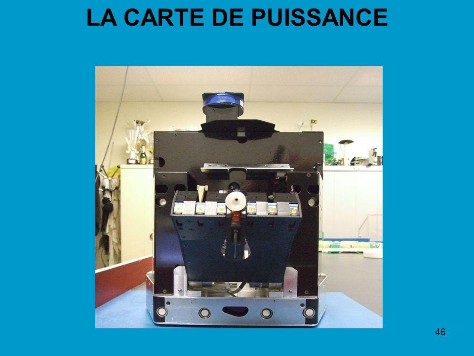 46 LA CARTE DE PUISSANCE