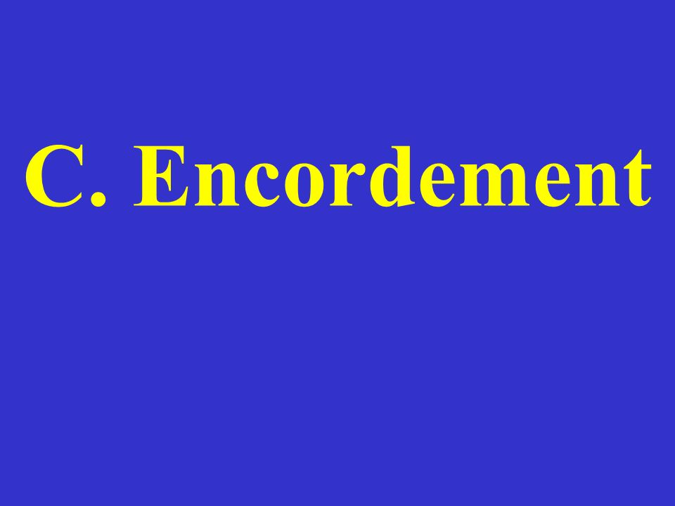 C. Encordement
