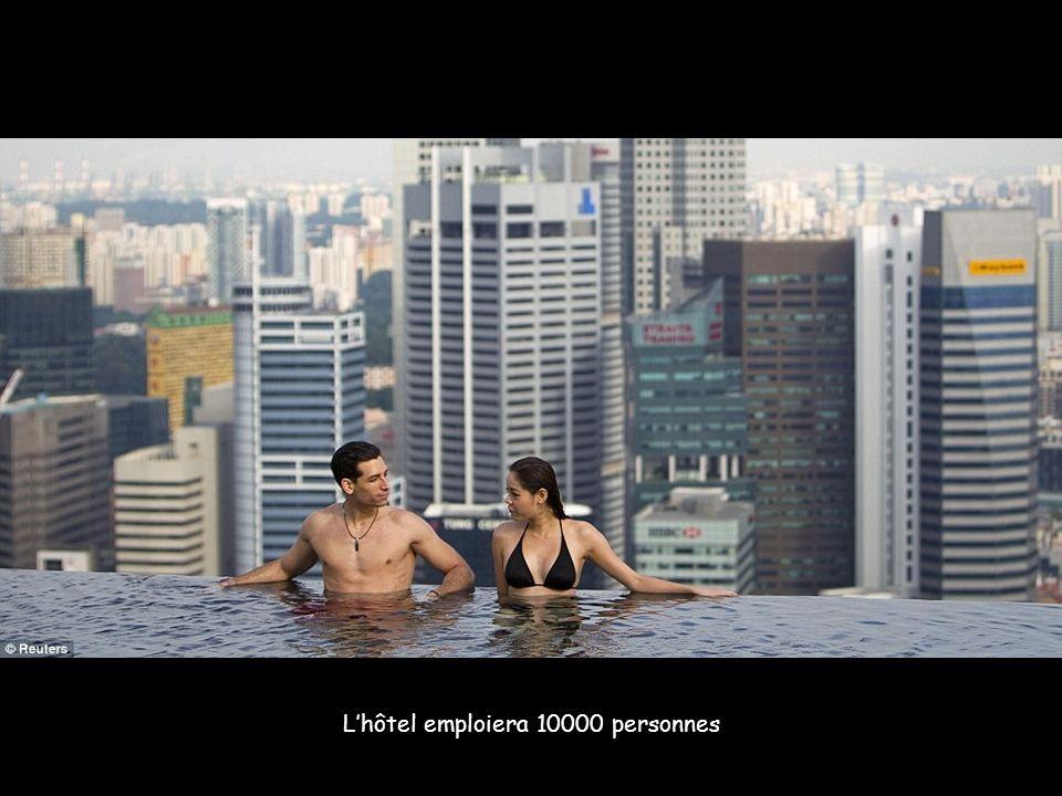 A l infini …et au-delà ! La piscine s étend sur 150 mètres, 3 fois une piscine olympique C est la plus grande piscine du monde en plein air à cette ha