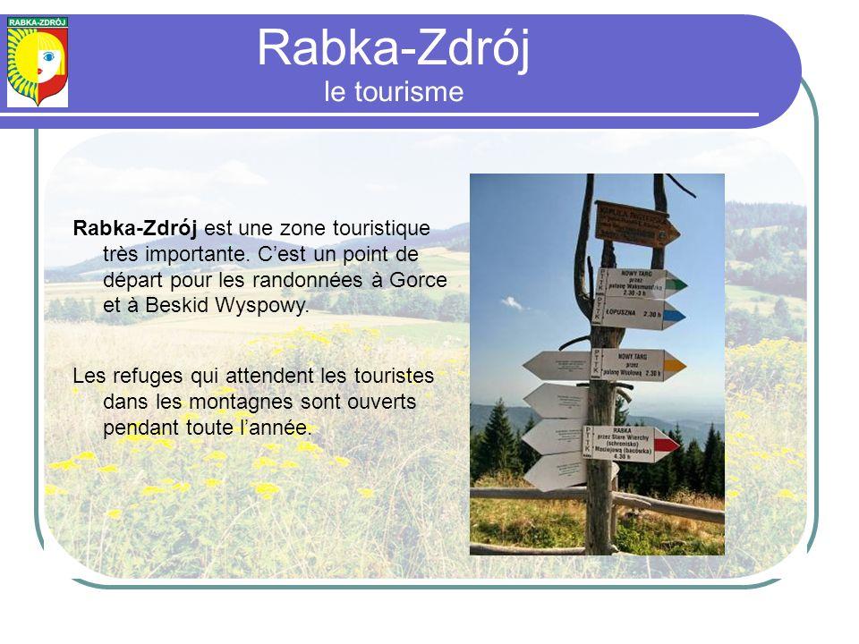 Rabka-Zdrój est une zone touristique très importante.