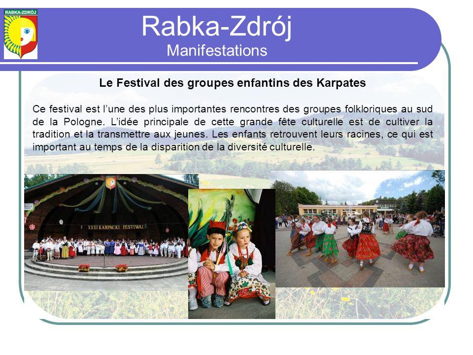 Le Festival des groupes enfantins des Karpates Ce festival est lune des plus importantes rencontres des groupes folkloriques au sud de la Pologne.
