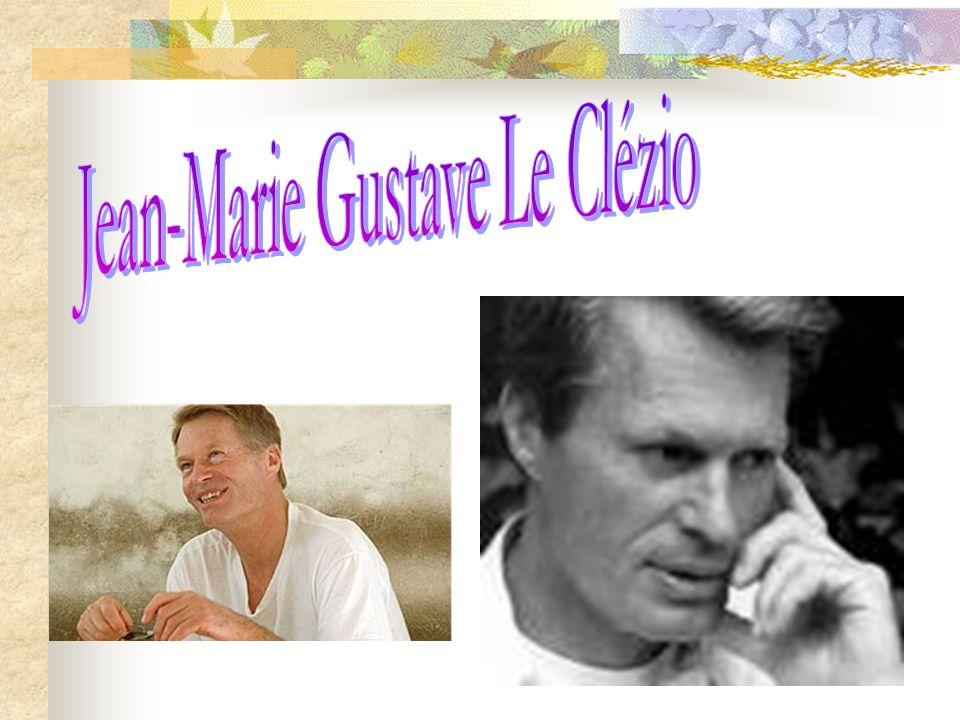Jean-Marie Gustave Le Clézio, qui vient de recevoir le Nobel de littérature 2008, est un des maîtres de la littérature francophone contemporaine, auteur dune oeuvre prolifique perçue comme une critique de la civilisation urbaine agressive et de lOccident matérialiste.