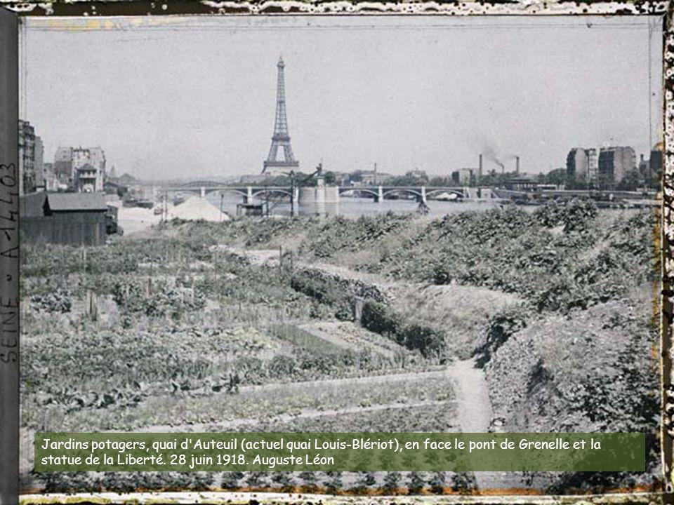 Photo autochrome: Paris au début du XXe siècle en couleurs Le musée Albert-Kahn dispose d'un fonds d'images exceptionnelles. Voici un échantillon de c