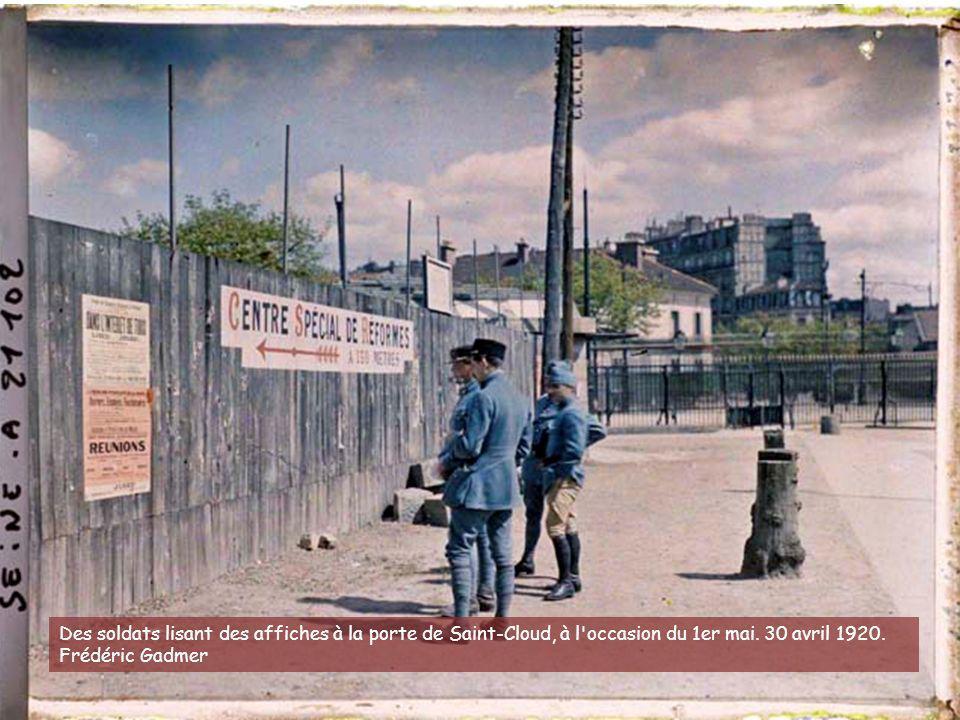 Démolition des fortifications et reconstruction d'immeubles (HBM), porte d'Orléans. 9-10 avril 1929. Stéphane Passet