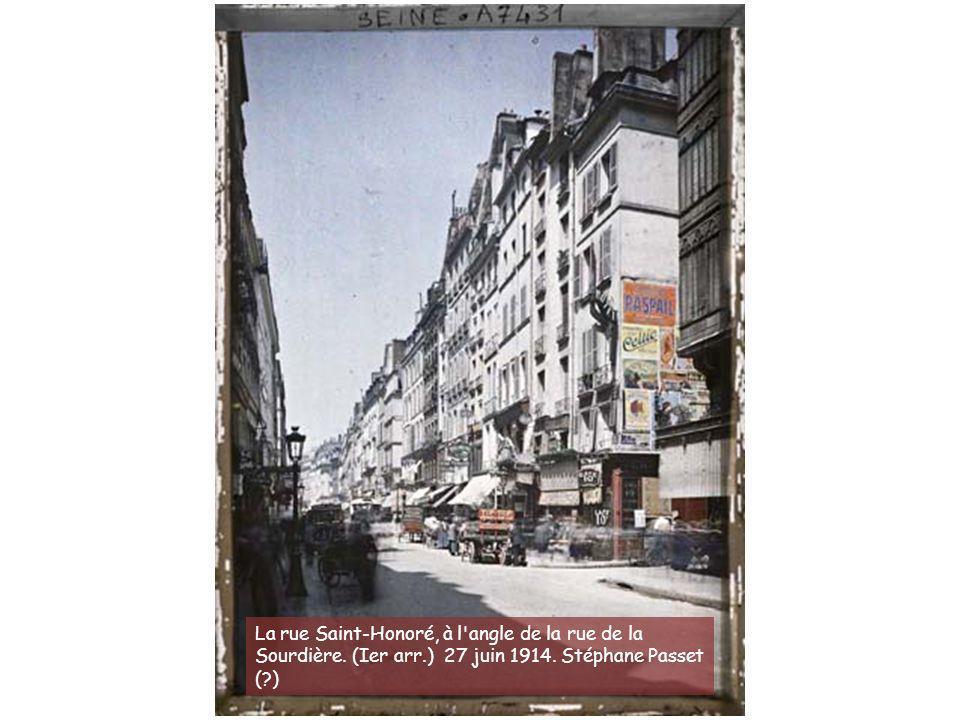 L'angle de la rue Lhomond et du pot de fer. (Ve arr.) 24 juin 1914. Stéphane Passet