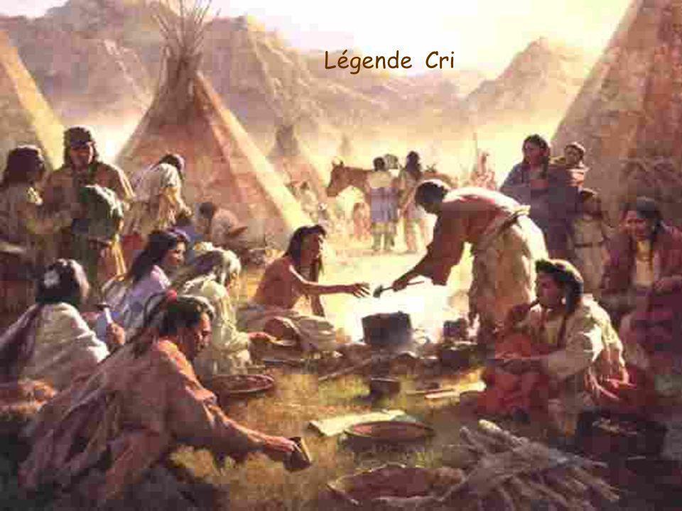 ll y a bien longtemps, du sirop pur coulait des érables. Lorsque le dieu Nanabozho y goûta, il le trouva tellement bon qu'il se dit que les habitants