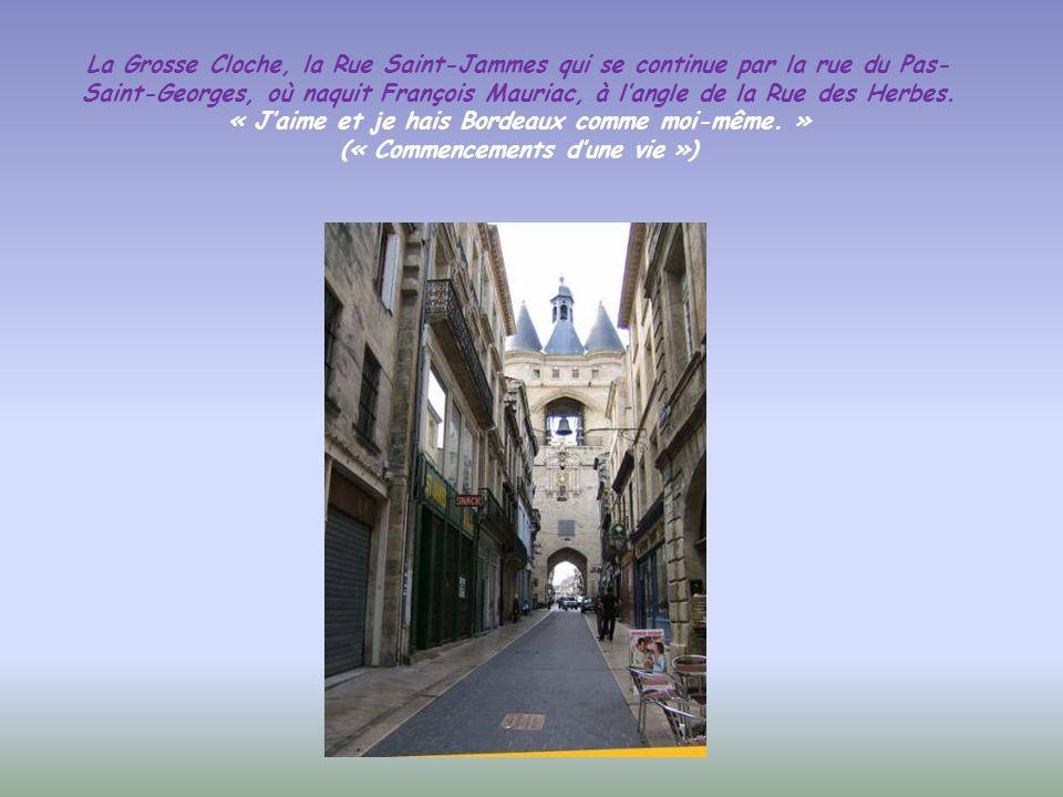 Les mascarons foisonnent à Bordeaux