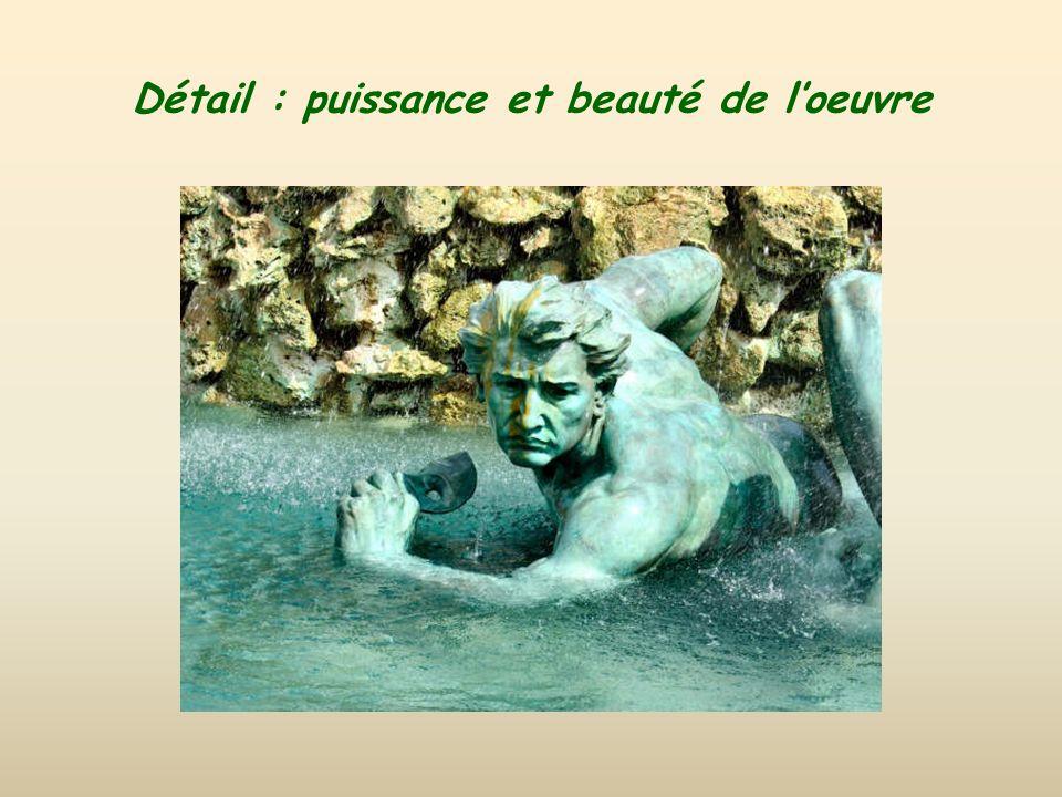 Monument allégorique : ignorance, mensonge et vice, et aussi, image du bonheur.