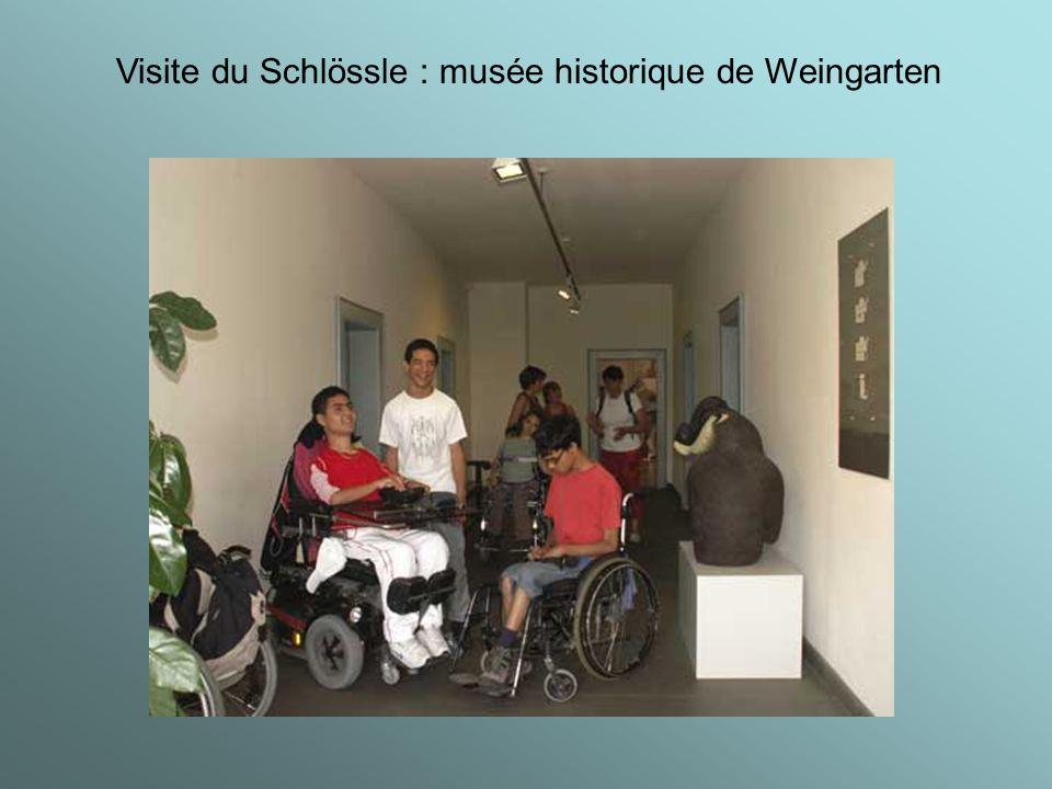 Visite du Schlössle : musée historique de Weingarten