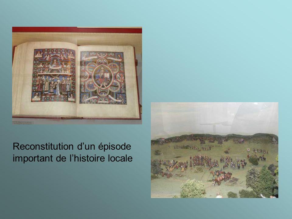 Reconstitution dun épisode important de lhistoire locale