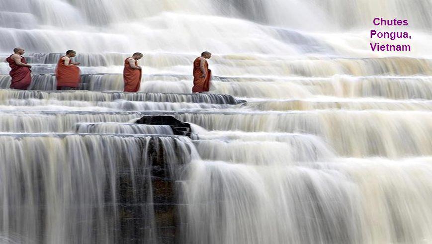 20 Chute Dudhsagar (Mer de lait) sur la rivière Mandovi à la frontière Goa - Karnataka Cest la 5ème plus haute chute deau en Inde