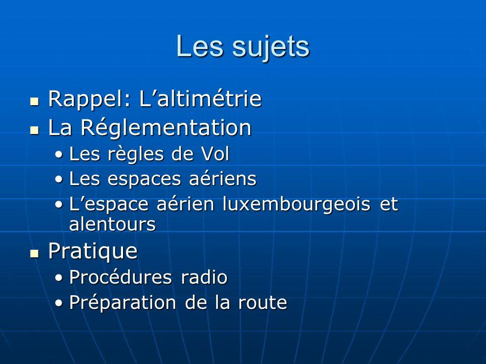 Lespace aérien Luxembourgeois