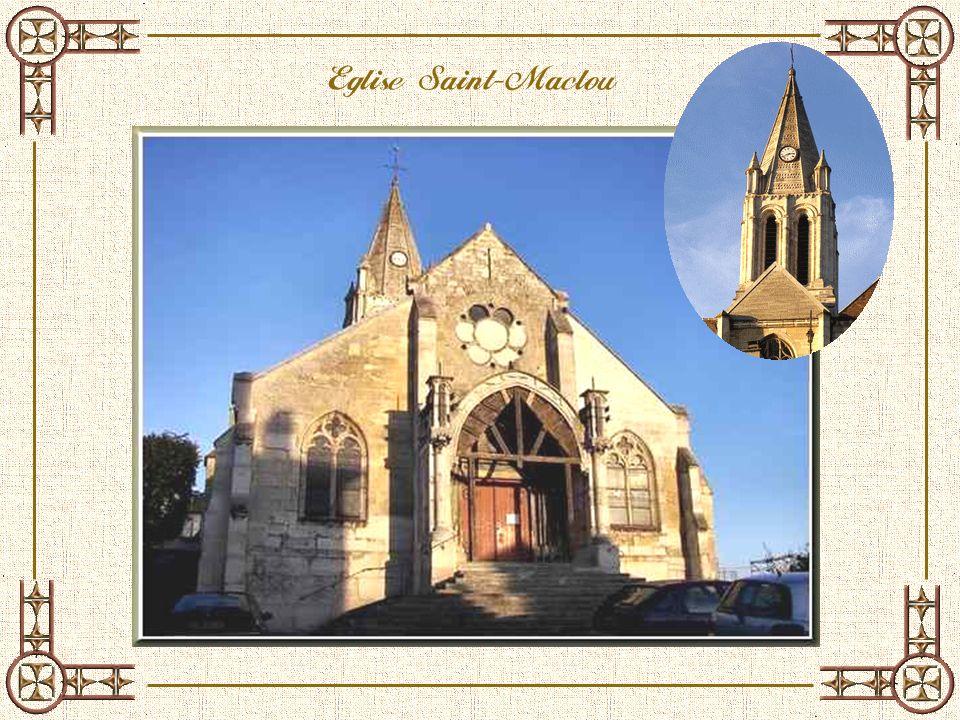 Léglise paroissiale de Conflans est dédiée à Saint-Maclou, évêque dAleth (de Saint-lo) mort vers 640.
