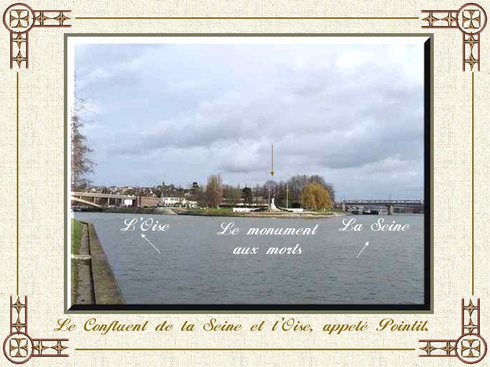 Pourquoi avoir choisi cette petite ville située à une trentaine de kilomètres de Paris, au Nord-Ouest ? Qua-telle donc de particulier ? La principale
