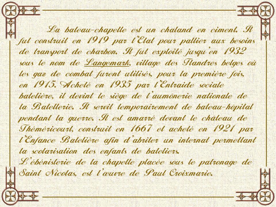 Le pavillon de la diapositive suivante porte le nom de Joseph Bouyssel, instituteur à Conflans, mort en 1940 dans le maquis du G ers.