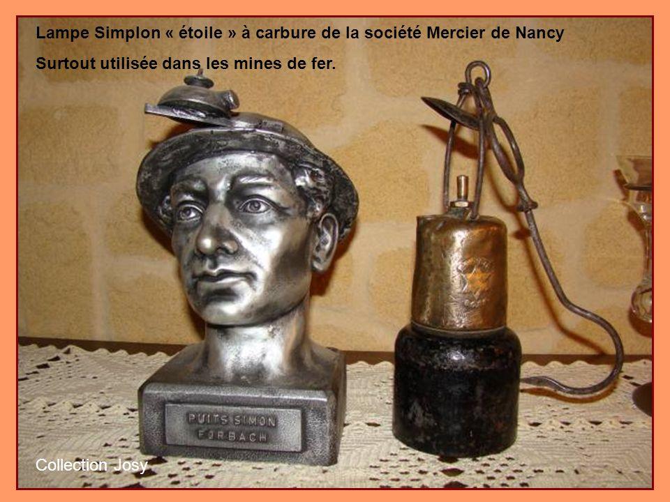 Diverses lampes à accus françaises de type Arras, Lemaire et ogivale des auxiliaires des mines de Douai couramment utilisées dans les mines françaises et belges.