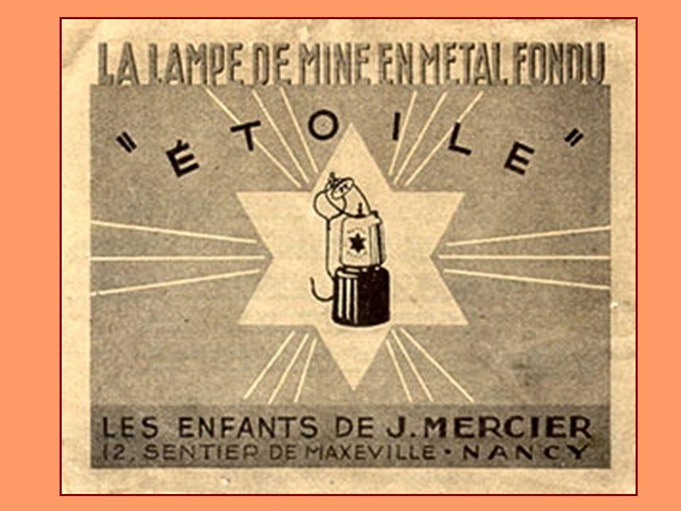 Collection Josy Lampe Simplon « étoile » à carbure de la société Mercier de Nancy Surtout utilisée dans les mines de fer.