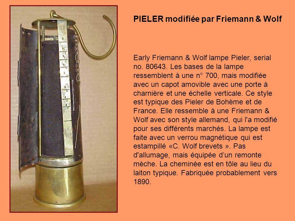 Ce modèle particulier de Pieler de Friemann & Wolf a ciblé le marché Nord-Américain.