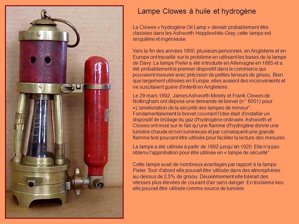 Cette lampe allemande de type Chesneau porte la mention «Wilhelm Seippel Gruben-Sicherheitslampen & Maschinenfabrik Bochum » est un exemple particulie