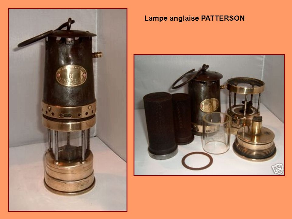 Lampe PATTERSON HCP 1930-1947